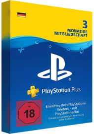 PlayStation Network Plus Card 90 Days DE