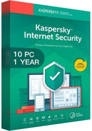Kaspersky Internet Security Multi Device 2020 - 10 Devices - 1 Year