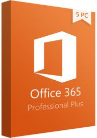 Microsoft Office 365 Professional Plus Account - 5 Devices 1 Year