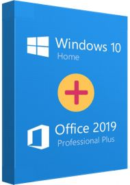 Windows 10 Home + Office 2019 Pro Bundle