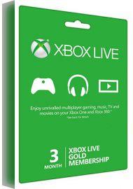 Xbox Live Gold Membership - 3 Month Global